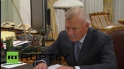 Russia: Putin and Governor of Ryazan talk biopharmaceuticals and veterans