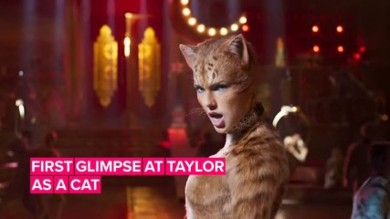 Taylor Swift's 'Cats' role is sassy, flirty & sparkly