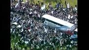 Меси се мръщи при прибирането на Аржентина