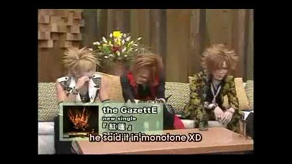 M - On The Gazette [090208] Part 1 Subbed.avi