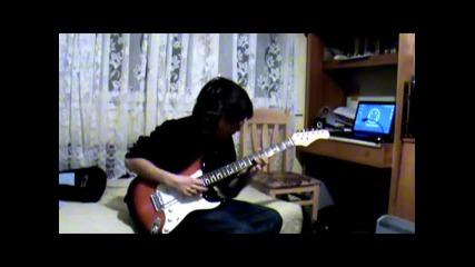 Пентатонично соло със средно темпо... ( Stratocaster )