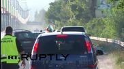 България: Мотористи блокираха магистралата край Варна заради цените на горивата