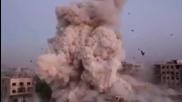 Франция атакува - Сирия