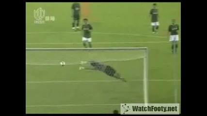26.07 асистенция на Бербатов за гол на Майкъл Оуен ! Грийнтаун - Манчестър Юнайтед 2:8