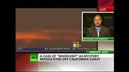 Мистериозната ракета изтреляна до бреговете на Калифорния на 8.11.2010г. е от подводница.