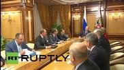 Russia: Putin chairs Security Council meeting in Sochi