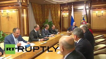 Russia: Putin chairs Security Council meeting in Sochi