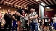 Джони спорт - храм на силата 7: награждаване в категория над 100 кг