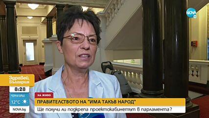 Ирена Анастасова: На България й трябва работещо правителство