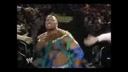Dwayne the Rock Johnson Vs. John Cena At Wrestlemania 25.flv