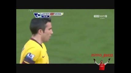 Уест Бром - Арсенал 2 - 2