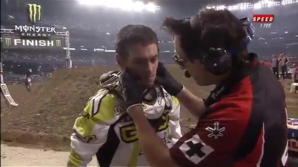 2012 Justin Bogle Crash w Pellegrini - Toronto (official)