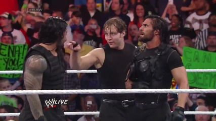 Cody Rhodes & Goldust vs. Roman Reigns & Seth Rollins Raw (10.03.14)