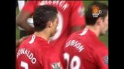 20.01 Манчестър Юнайтед - Дарби Каунти 4:2 Кристиано Роналдо гол ! Карлинг Къп