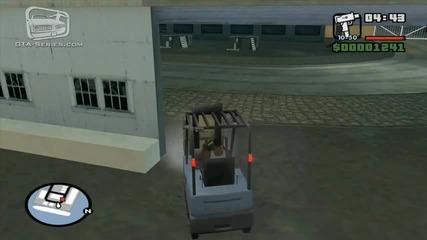 Gta San Andreas - Mission 12 - Robbing Uncle Sam