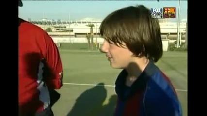 Интервю с Messi на 13 г.