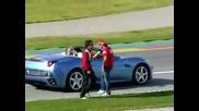 Ето как да Не карате Ferrari ! Смях !