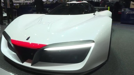 Switzerland: Pininfarina reveal hydrogen-powered H2 Speed concept