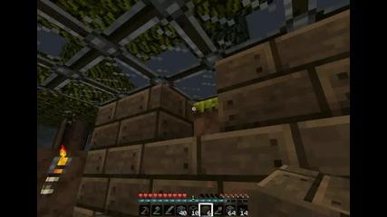 Майнкрафт Оцеляване с мен gameplay_gamer епизод 6 upgrade на къщата:)