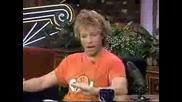 Интервю С Jon Bon Jovi При Джей Лено