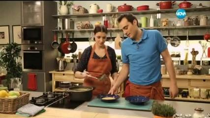 """Картофена супа със сирена и шоколадови равиоли в """"Бон Апети"""" (18.02.2015г.)"""