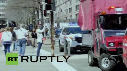 USA: Shots fired outside US Capitol by man committing suicide