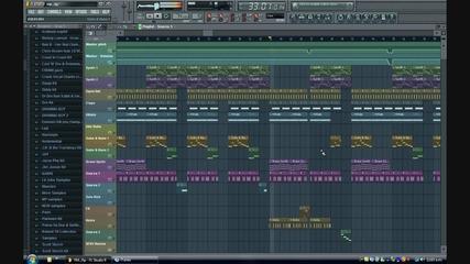 Fl Studio 9 - Young Money - Bedrock - Instrumental Remake + Download