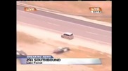 Жена шофьор побърква полицията *смях*