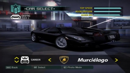 Need For Speed Carbon Cars