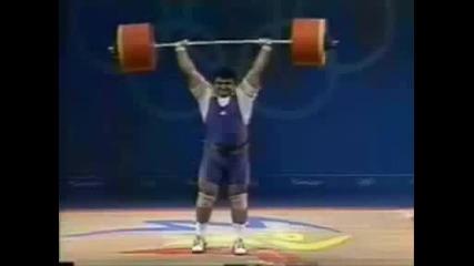 Олимпииски рекорди по щанги през годините Има И Бг