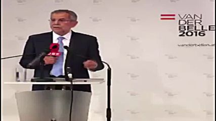 Austria: 'I intend to win this election a second time' – Bellen responds to presidential election re-run