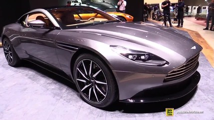 2017 Aston Martin Db11 - Exterior and Interior Walkaround - Debut at 2016 Geneva Motor Show