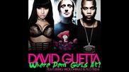 David Guetta Ft. Flo Rida & Nicki Minaj - Where Dem Girls At ( Original Version)