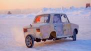 Дрифт на три колела - щуротия от Русия