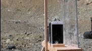 Вижте колко броя iphone са необходими за да спират куршум, изстрелян от руския Ak-74!