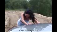 Жена закъсала с кола (луд смях)