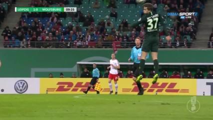 РБ Лайпциг – Волфсбург 1:0 /репортаж/