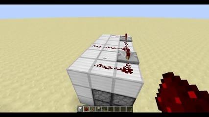 How to?-2x2 Minecraft Redstone Door
