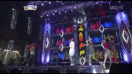 Gdragon - Sbs Idol Big Show [hello ft. Dara]