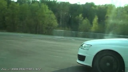 (hd) Dragtimes.info Bmw M6 vs New Audi Rs6