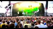 Pendulum - Fasten your seatbelt(live At Glastonbury (27 06 2009),  Високо качество