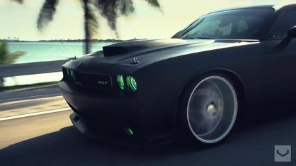 Dodge Srt с красиви джанти Vossen !