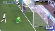 Валенсия - Барселона 2:3, Елдер Пощига (45)