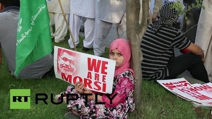 Pakistan: 'We are all Mohamed Morsi' Jammat-e-Islami respond to death sentence