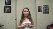 9-годишната Зори, спечелила второ място в конкурс на Дисни!