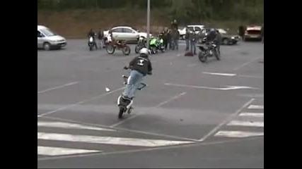 Aprilia Rs 50 Streetfighter Stunter