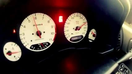 Nissan Skyline - Зверски звук.