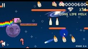 Nyancat Lost in space Gameplay