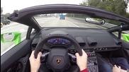 2016 Lamborghini Huracan Spyder - Wr Tv Pov City Drive