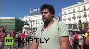 Spain: Anti-monarchy activists rally in support of self-determination